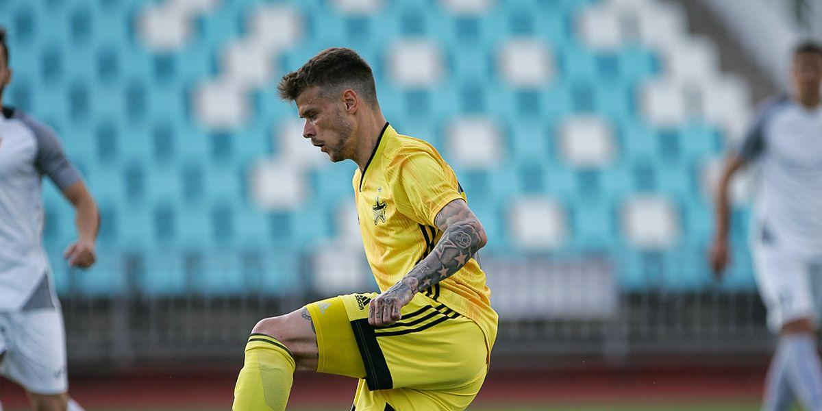 Sébastien Thill ist Stammspieler bei Sheriff Tiraspol.