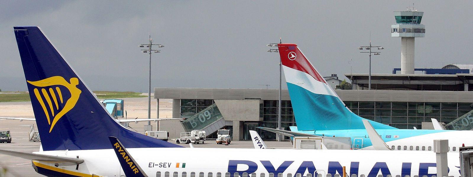 Der erste kommerzielle Ryanair-Flug nach Luxemburg ist für den kommenden Sonntag programmiert.