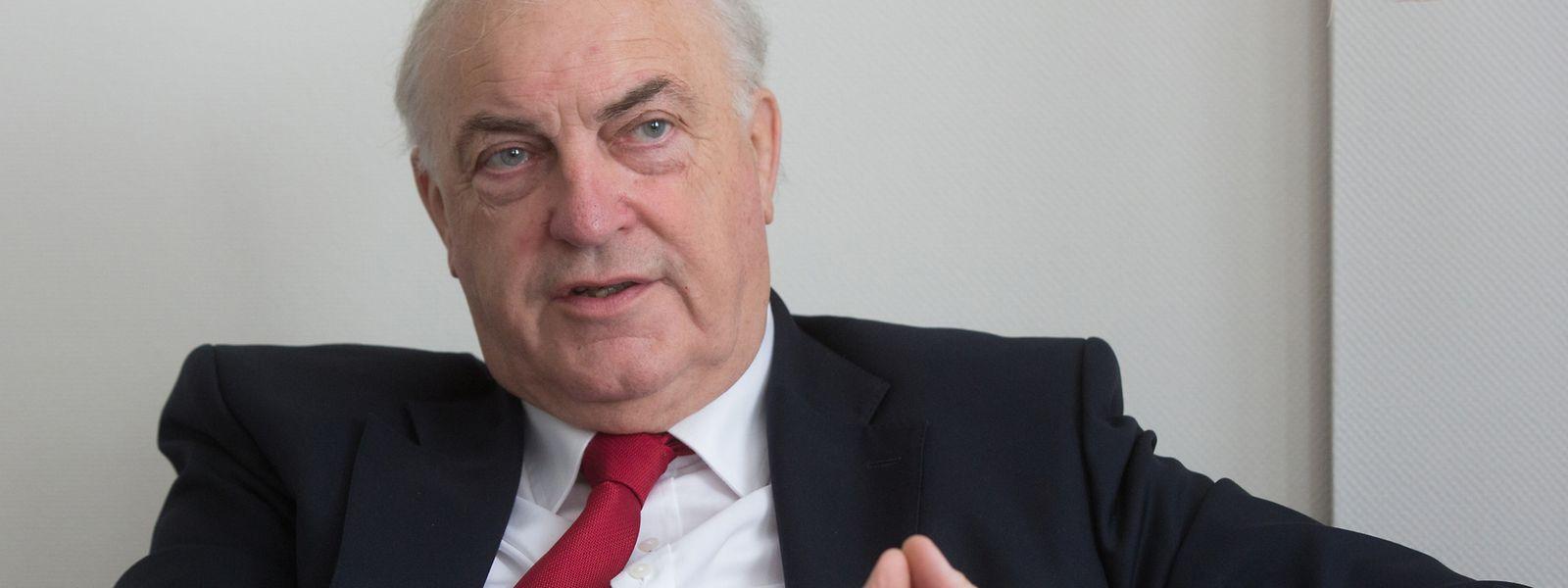 Charles Goerens hat gute Chancen bei den Europawahlen. Sollte er gewählt werden, will er sein Mandat bis zum letzten Tag ausüben.