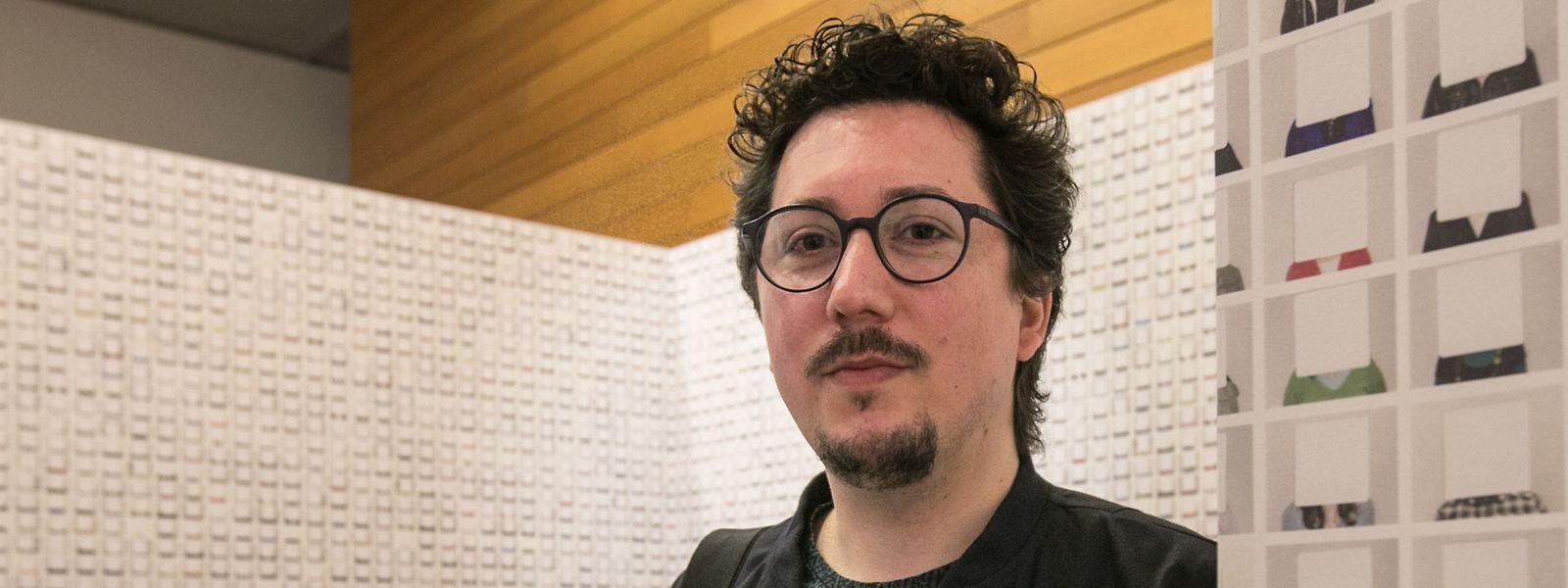 Marco Godinho ist in der luxemburger Kunstszene kein unbeschriebenes Blatt.