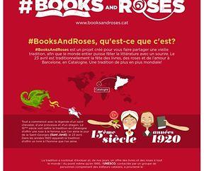 Sant Jordi #booksandroses