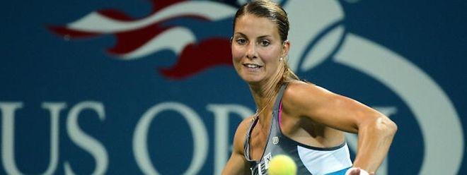 Mandy Minella a poussé Elina Svitolina au 3e set, mais elle doit s'incliner au 1er tour de l'US Open