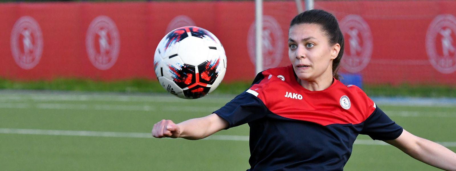 Die 24-jährige Marta Estevez gehört zu den erfahreneren Spielerinnen in der FLF-Auswahl.
