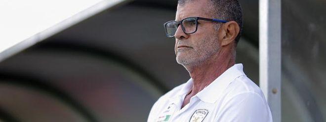 Baltemar Brito, treinador do União Titus Pétingen, vai medir forças com Manuel Correia, homólogo do Strassen.