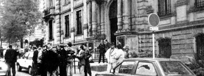 Mit dem Überfall auf den Hauptsitz der BIL wollte die Bande den großen Coup landen. Das Unterfangen endete jedoch in einem Fiasko.