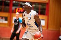 Henry Pwono (Etzella 12) / Basketball, Total League Maenner, Drittes Halbfinale, Etzella - Basket Esch / 11.06.2021 / Ettelbrueck / Foto: Christian Kemp