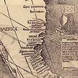 """Die Karte gibt es tatsächlich, es steht auch """"America"""" drauf - aber die Kopie in Bayern ist gefälscht."""