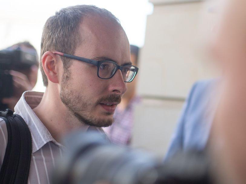 Whistleblower Antoine Deltour after Wednesday's verdict