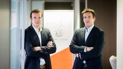 Managing directors Laurent Muller and Frédéric Muller of Muller & Associés