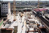 Lok , Coronavirus , Baustellene wieder offen , Post Gare Jallay/Luxemburger Wort