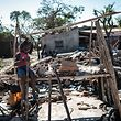 A cidade da Beira, no centro litoral de Moçambique, foi uma das mais afetadas pelo ciclone, na noite de 14 de março.