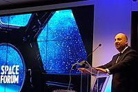 Etienne Schneider au Space Forum, ICT Spring, 9-10 mai 2017