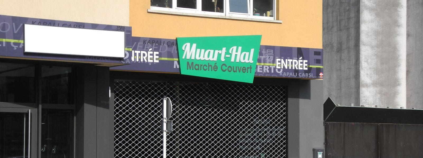 Am Mittwoch blieb die Muart-Hal in Esch/Alzette geschlossen.