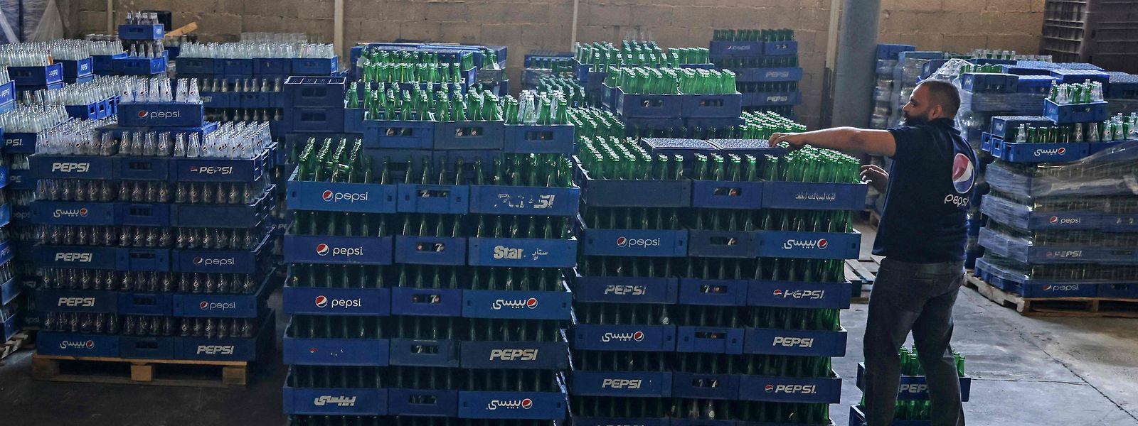 Pepsi gehört zu den weltweit agierenden Getränkeproduzenten.