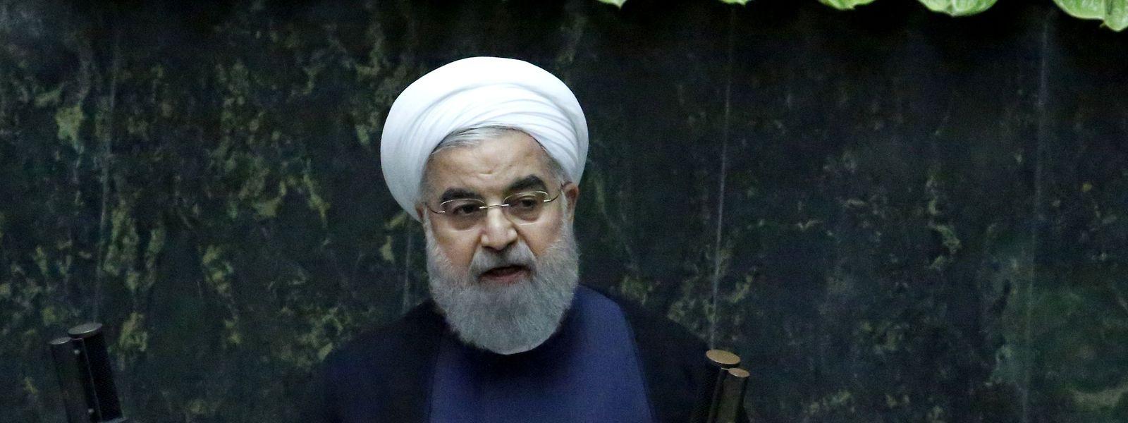 Der iranische Präsident Hassan Ruhani warnte am Sonntag davor, das Wiener Abkommen innen- und außenpolitisch zu schwächen.