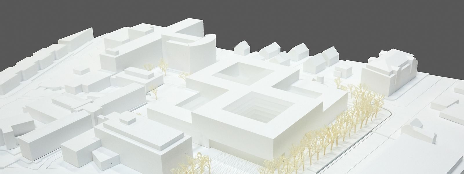 "Der erste Preis geht an das Projekt des Teams ""M3 Architectes S.A."""