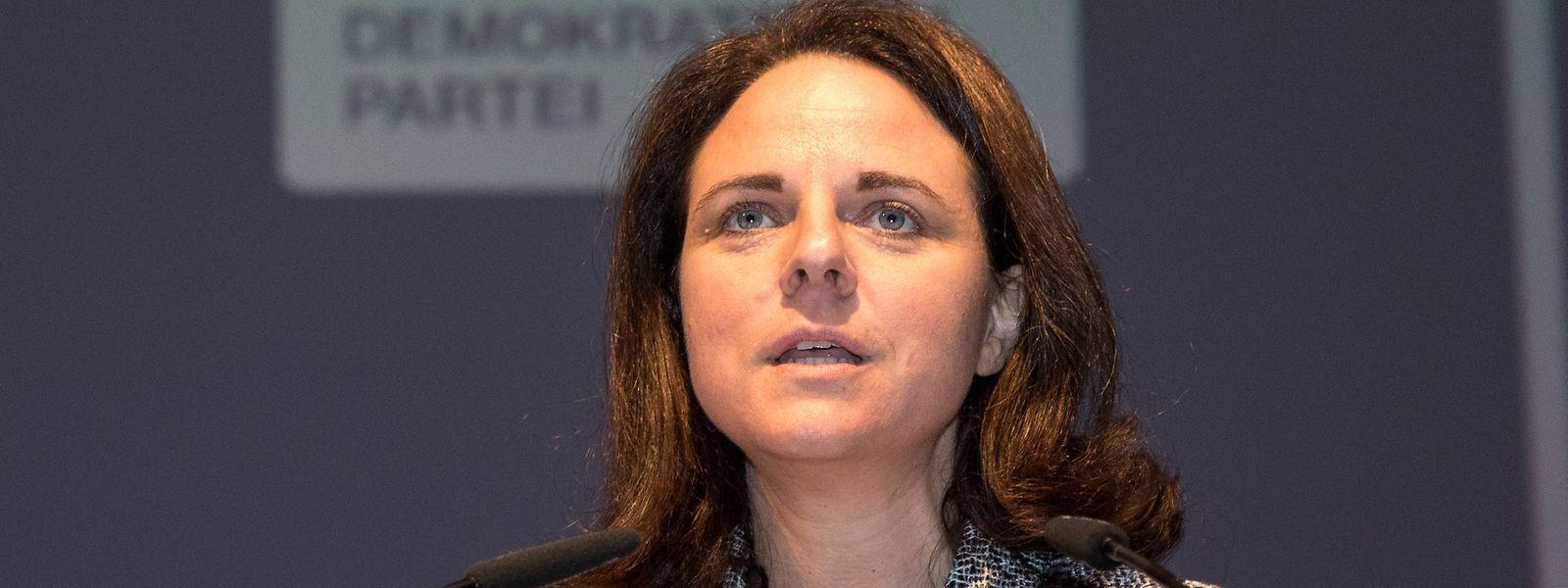 La ministre Corinne Cahen (DP)a bénéficié d'un soutien rapide et franc du chef du gouvernement.