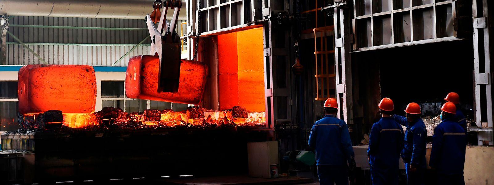 Trump hatte vor zwei Wochen umfassende Einfuhrzölle auf Stahl in Höhe von 25 Prozent und auf Aluminium in Höhe von 10 Prozent verhängt.