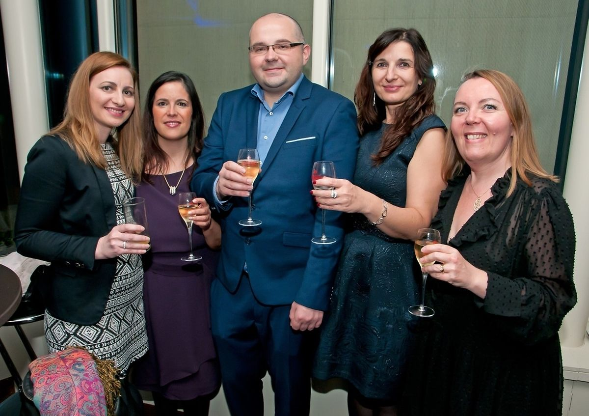2017 Thanksgiving party by the American Chamber of Commerce in Luxembourg