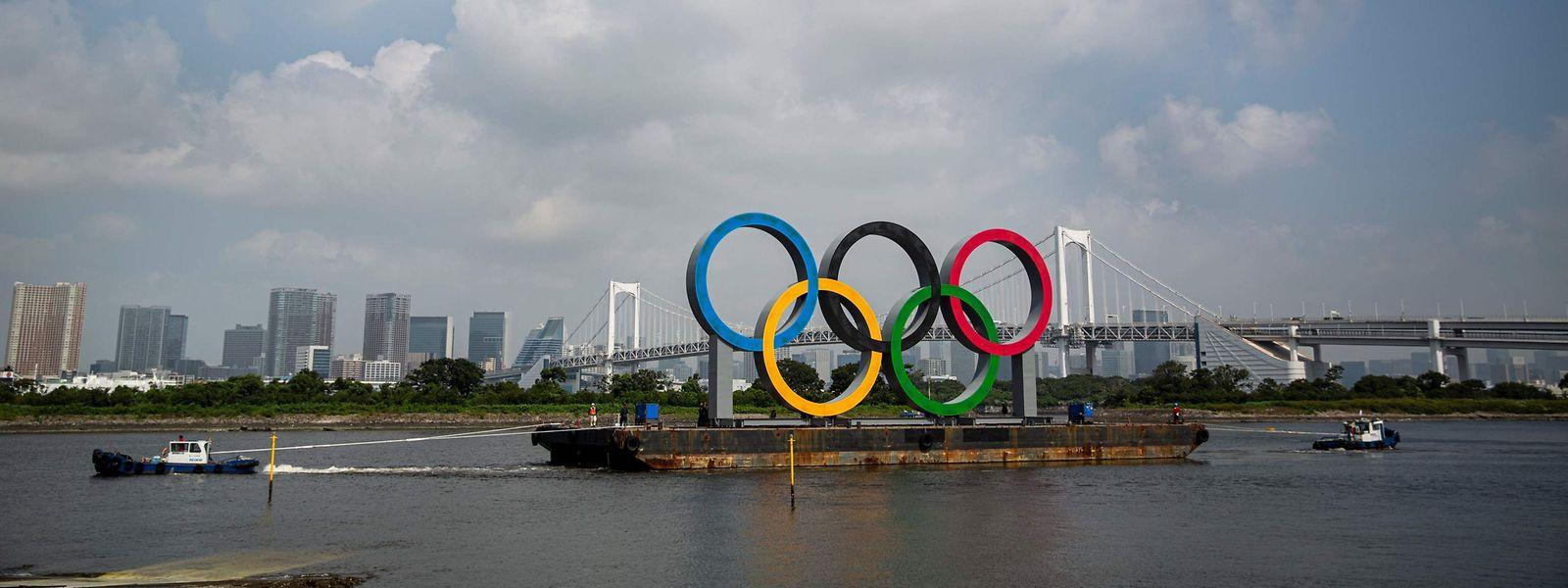 Die Olympischen Spiele sollen am 23. Juli in Tokio beginnen.