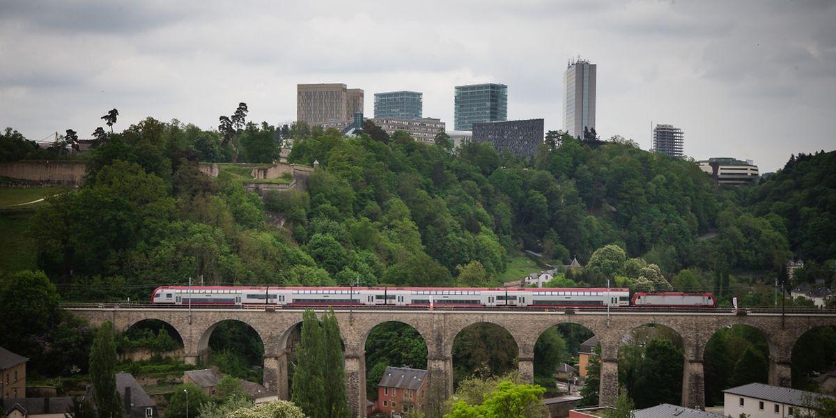 """Dieses Jahr wurde die """"Société Nationale des Chemins de Fer Luxembourgeois"""" (CFL) 70 Jahre."""