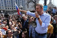 Nawalny ist das bekannteste Gesicht der Opposition in Russland und wurde schon mehrfach Opfer von Anschlägen.