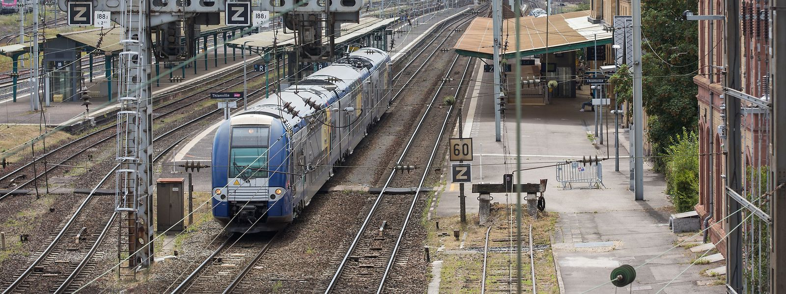 L'enveloppe supplémentaire de 110 millions d'euros pour le développement du réseau ferré entre la France et le Luxembourg sera en partie utilisée pour la construction d'un nouvel atelier de maintenance, situé à Metz.