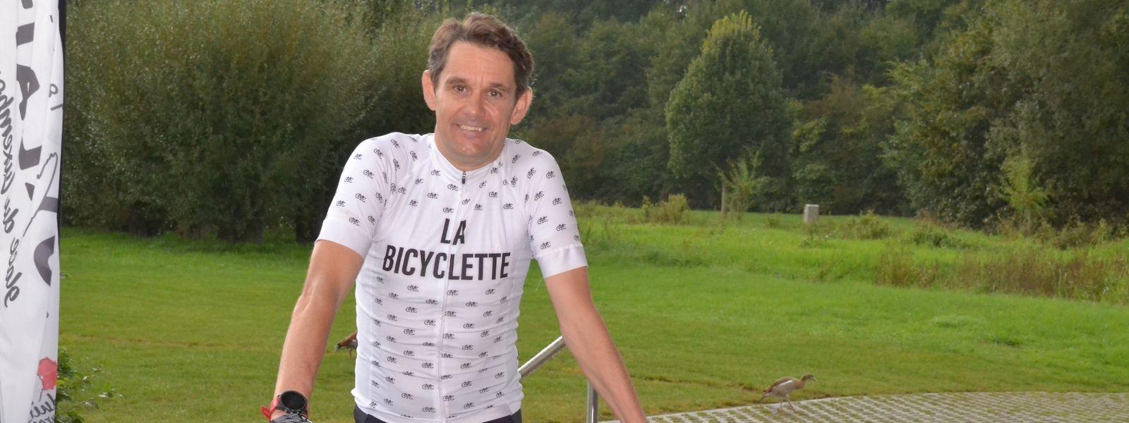 Um das Essverhalten der Menschen zu hinterfragen, radelt Romain Possing 553 Kilometer bis nach Basel.