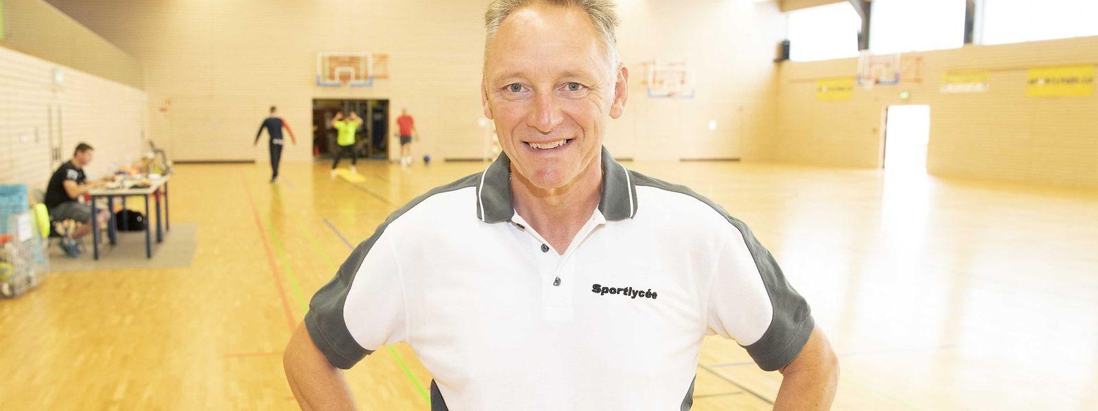 Er sorgt seit mehr als fünf Jahren dafür, dass im Sportlycée alles rund läuft: Eugène Weber, der von allen nur Usch gerufen wird.