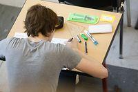 Lokales, Escher Lyzeum, Lycée de garçons, Examen, Abi Abschluss Foto: Anouk Antony/Luxemburger Wort