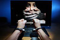 Die Verdächtigen sollen Kinderpornos im Internet getauscht haben.