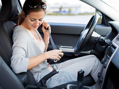 Der Polizei zufolge unterschätzen auch in Luxemburg immer noch viele Verkehrsteilnehmer die Wichtigkeit des Sicherheitsgurtes.