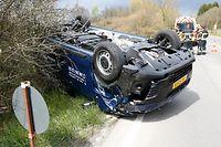 Accident route de Bettembourg, le 28 Avril 2017. Photo: Chris Karaba
