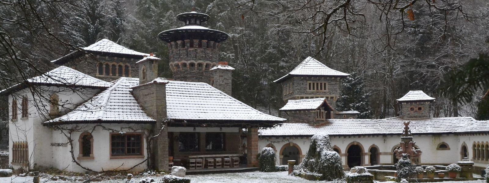 40 Jahre lang hat Bauherr Pol Gilson an seinem Haus gebaut. Zunächst als Ferienchalet angedacht, wurde es nach und nach zu einem regelrechten Juwel im Walde. Ein Schatz, der erhalten bleiben soll – dafür sorgt nun die Gemeinde Mertzig.