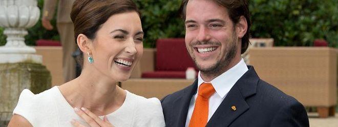 Félix von Luxemburg und seine Frau Claire Lademacher haben Ja gesagt. Foto: Boris Roessler