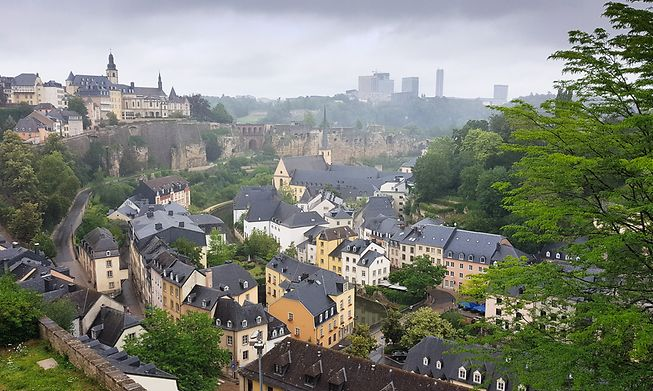 Fifty shades of grey sky this summer in Luxembourg