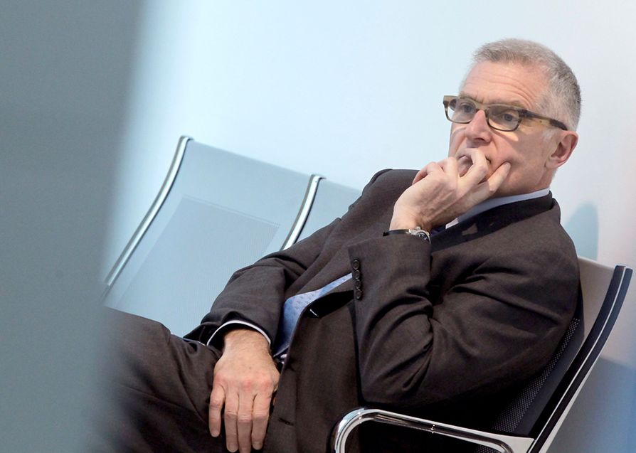 Ben Geiben 2013 als Zeuge vor Gericht.