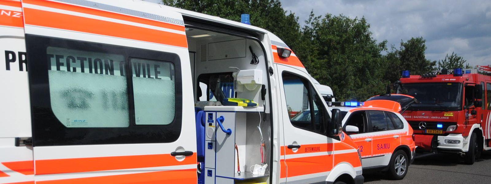 Die Rettungsdienste waren am Dienstagabend gefordert.