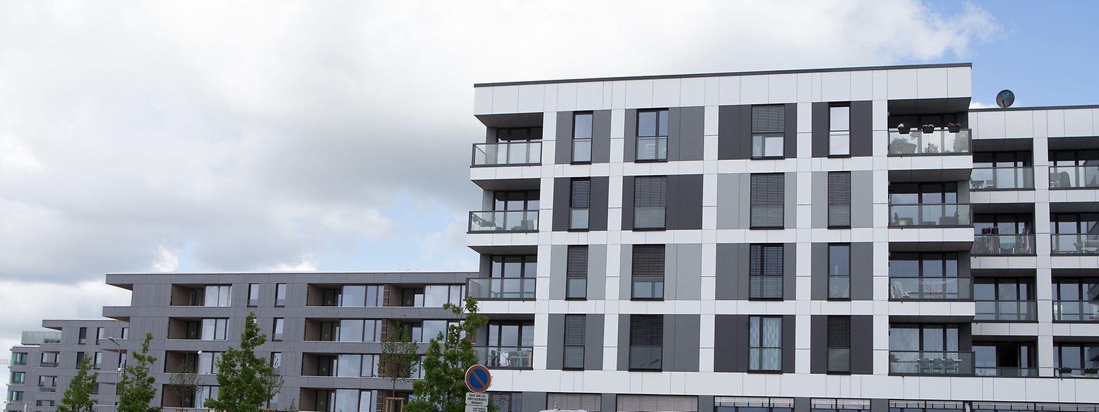 142 Wohneinheiten wurden im Jahr 2014 fertiggestellt. In Kirchberg-Grünewald ist man aktuell in der Endphase: Zwei der fünf Mehrfamilienhäuser sind bereits bewohnt, die drei anderen sind in wenigen Wochen bezugsbereit.