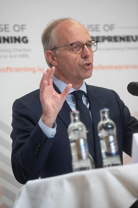 Luc Frieden, Präsident der Handelskammer