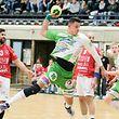 FLH Handball AXA League Meisterschaft 2018-2019 zwischen dem HB Red-Boys Differdange und dem HC Berchem am  13.02.2019 Ben WEYER (10 HCB)