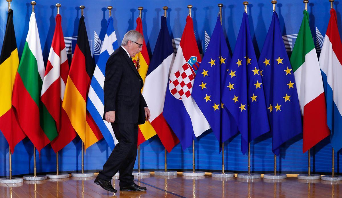 Jean-Claude Juncker hatte zu dem Treffen eingeladen.