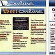 Erste Homepage des Luxemburger Wort am 15. Dezember 1995
