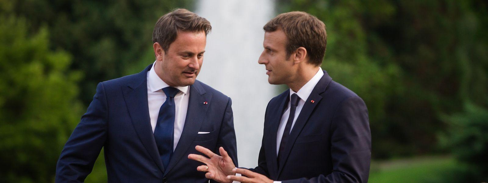Der französische Präsident Emmanuel Macron war Ende August zu Besuch in Luxemburg. Bei dem Treffen mit Premier Xavier Bettel ging es vorrangig um Fragen der europäischen Zusammenarbeit.