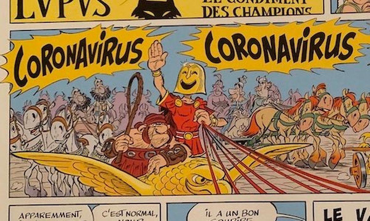 Il y a trois ans déjà, le Coronavirus menaçait déjà les irréductibles Gaulois.