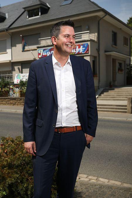 Lex Delles: «Je me sens particulièrement à l'aise à Wouerbësch.»