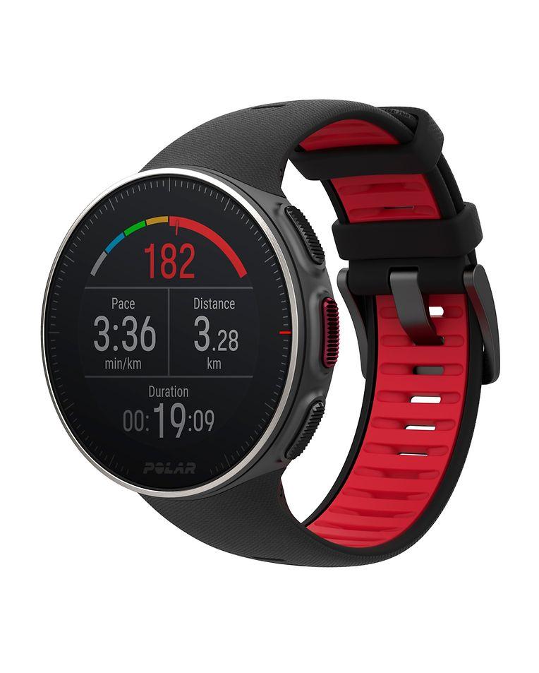 """Die Polar """"Vantage V"""" (um 480 Euro) verbirgt unter dem Gehäuse unter anderem ein Barometer und einen GPS-Empfänger."""