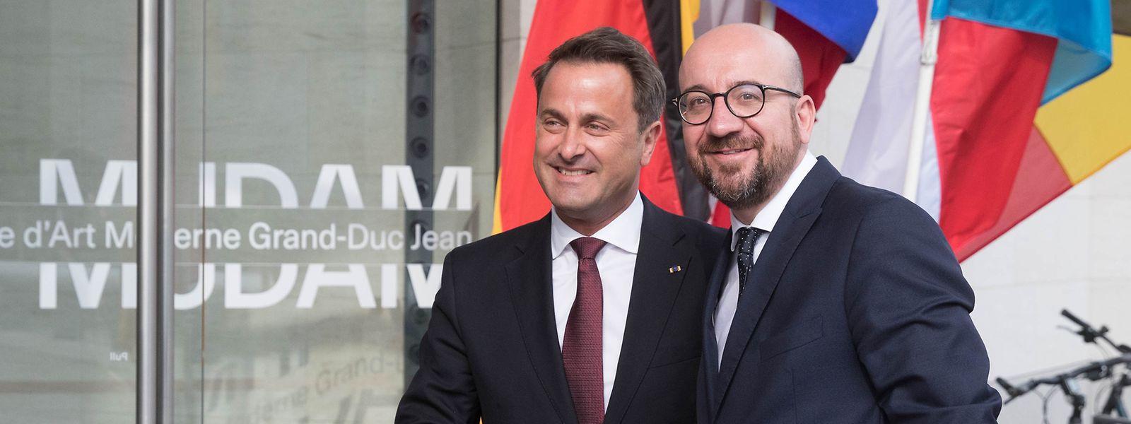 En pleine campagne électorale pour les législatives, le Premier ministre belge Charles Michel évoque déjà «les nombreux avantages attendus» d'un texte en cours de négociation.