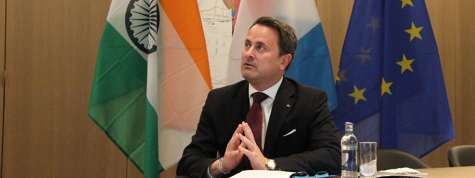 """L'entretien entre les deux Premiers ministres a constitué """"la première réunion officielle au sommet entre l'Inde et le Luxembourg en deux décennies""""."""