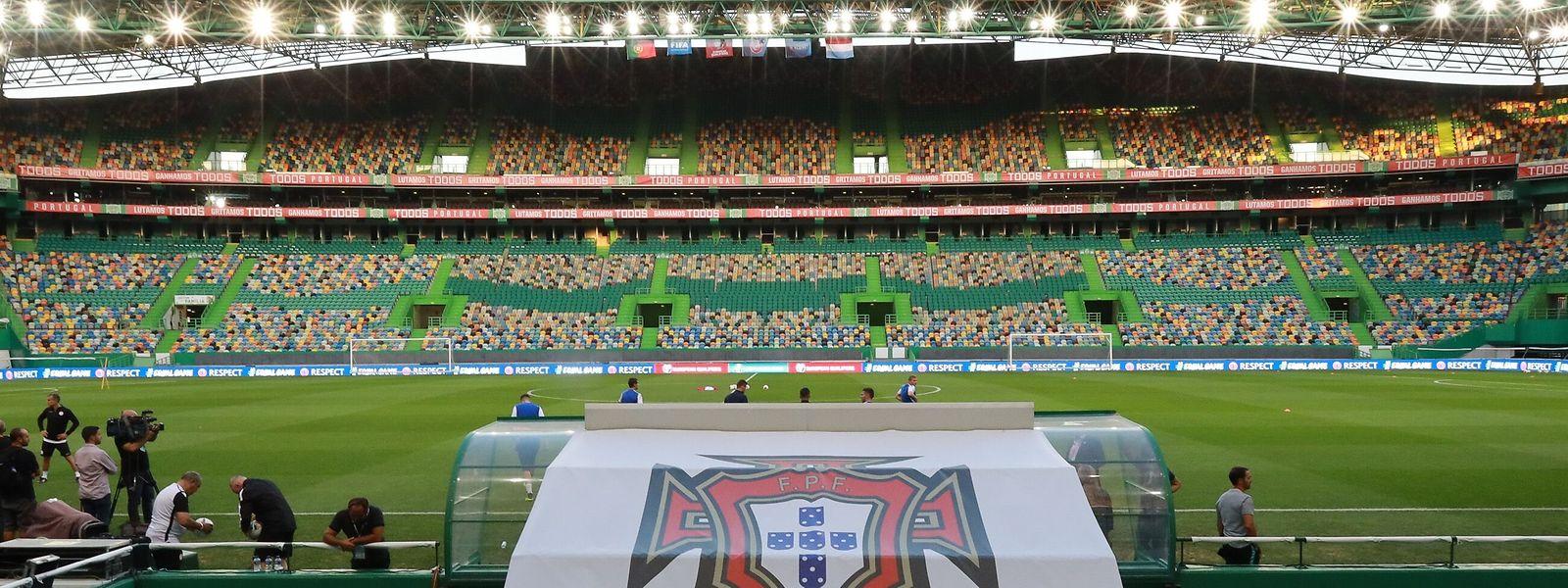 Das Stadion José Alvalade ist gegen Luxemburg ausverkauft.
